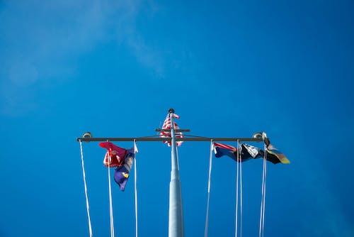 Free stock photo of flags, mast, memorial, naval