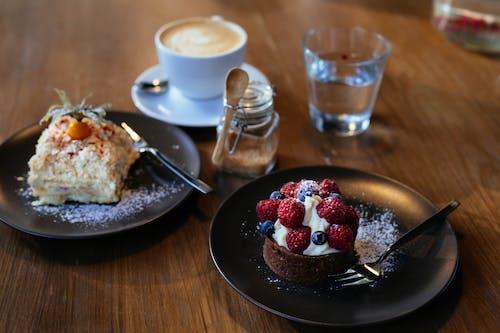 Foto stok gratis beri, bluberi, buah, cake