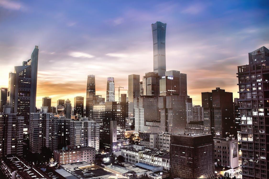 中国 尊, 北京, 城市
