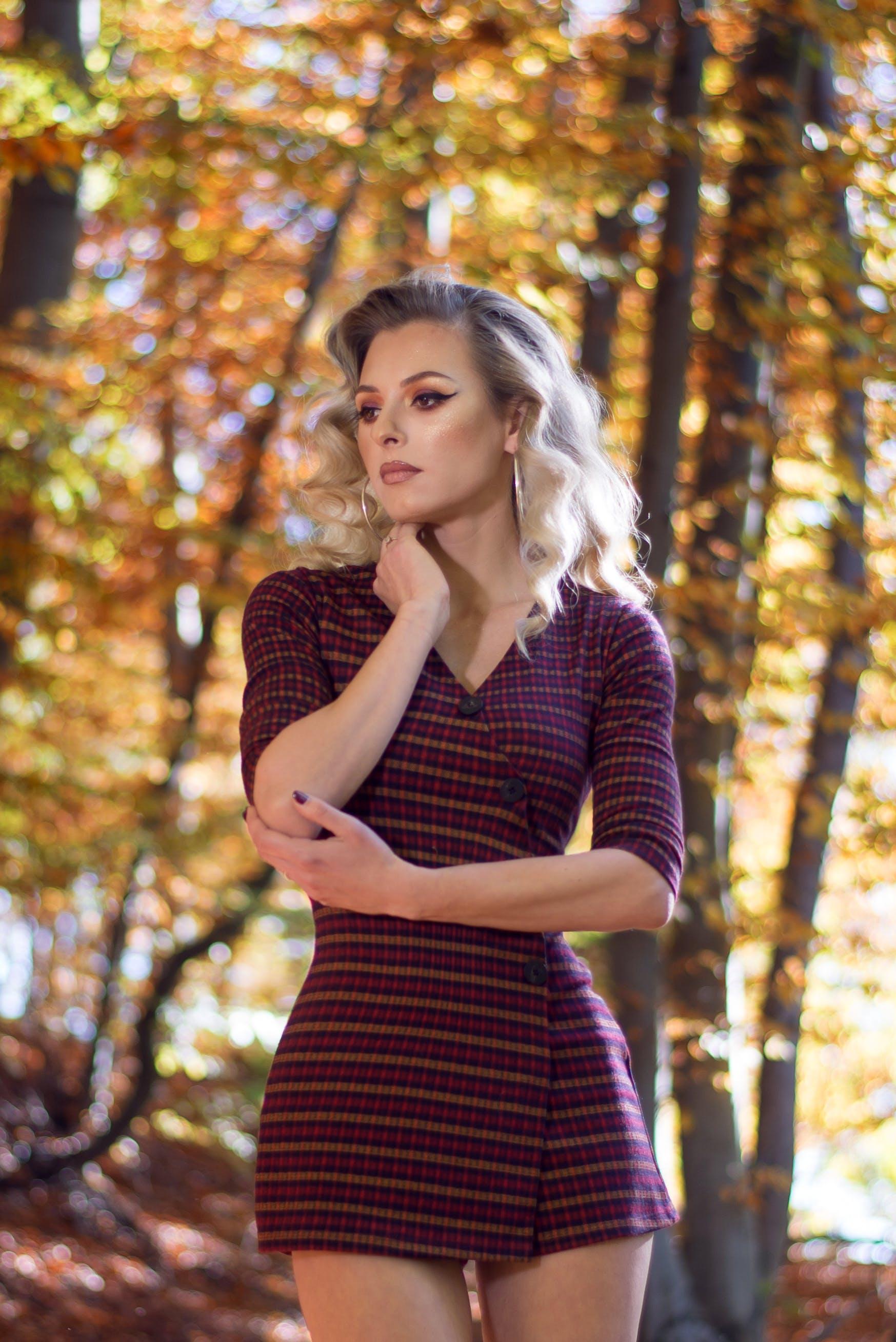 Free stock photo of girl, cute, autumn, style