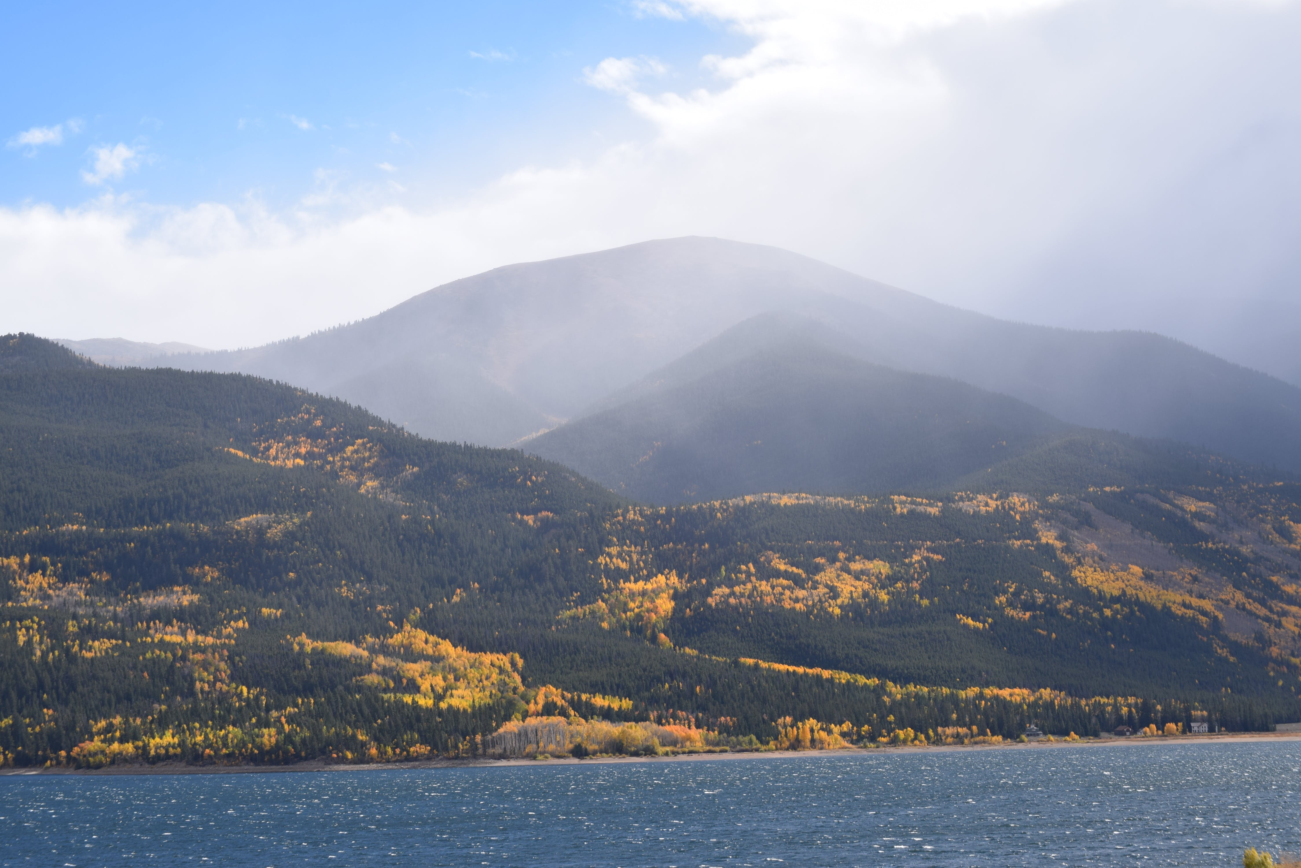 Photograph of Hills and Mountains