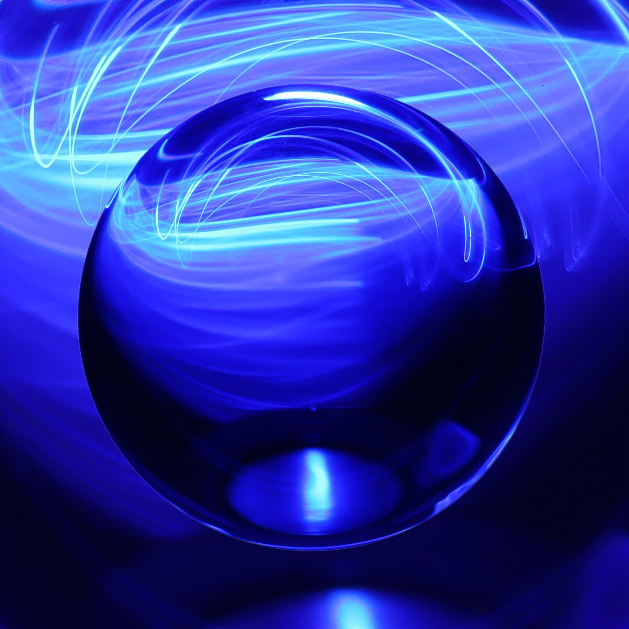 Fotos de stock gratuitas de bola, bola de cristal, claro como el cristal, color