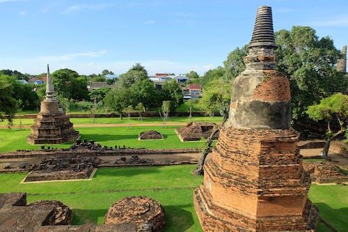 Free stock photo of ayutthaya, ruins, temple, thailand