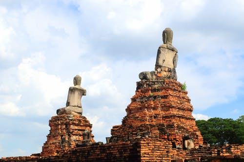 Free stock photo of ayutthaya, buddha, ruins, temple