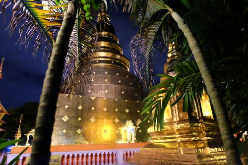 Free stock photo of chiang mai, gold, night, nocturnal