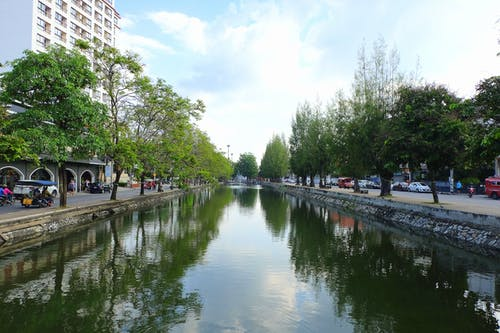 Free stock photo of canal, chiang mai, city, street