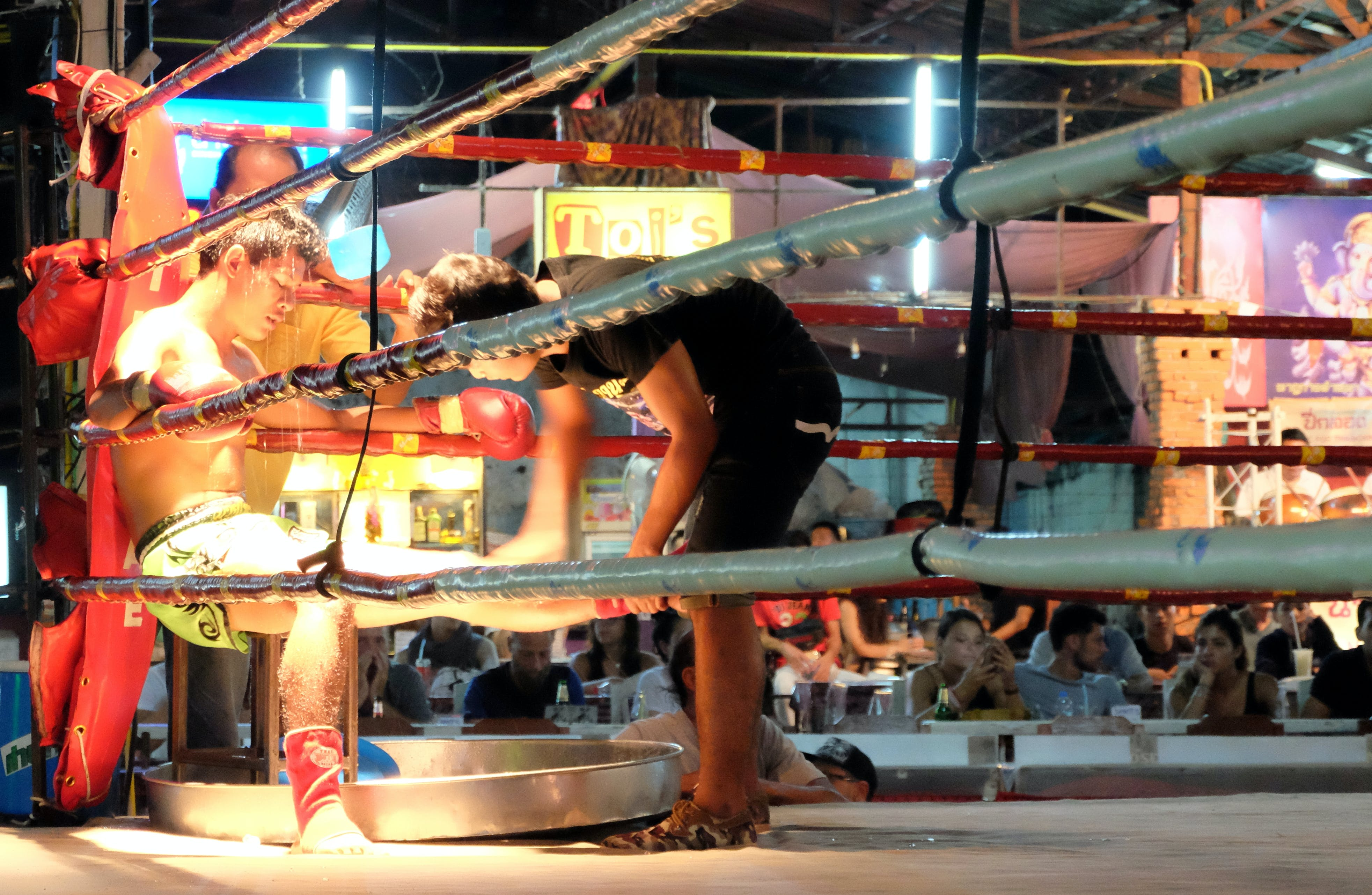 Free stock photo of arena, boxing, chiang mai, fighter