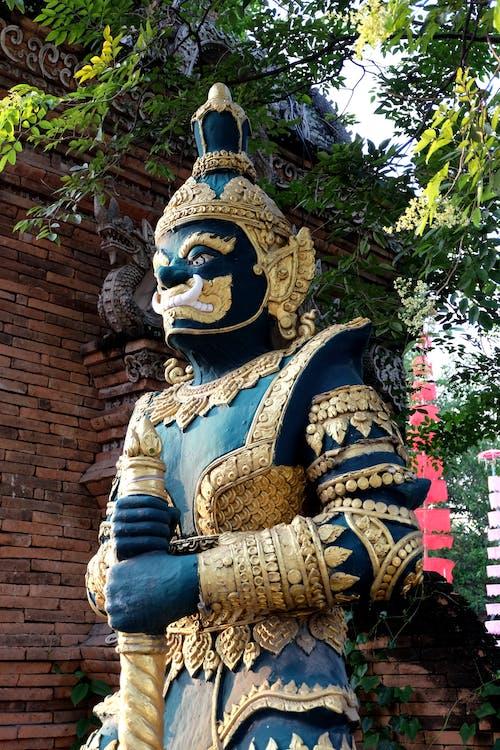 Základová fotografie zdarma na téma chrám, Čiang Mai, socha, wat lok molee