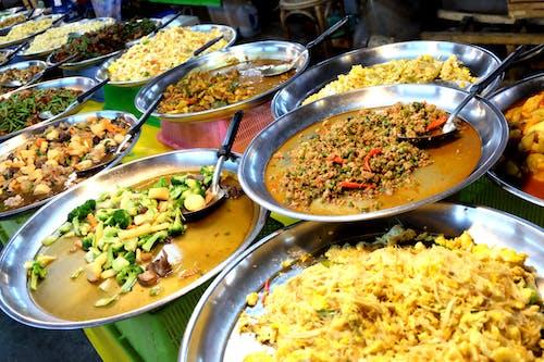 Free stock photo of asian food, market, street food, thai food