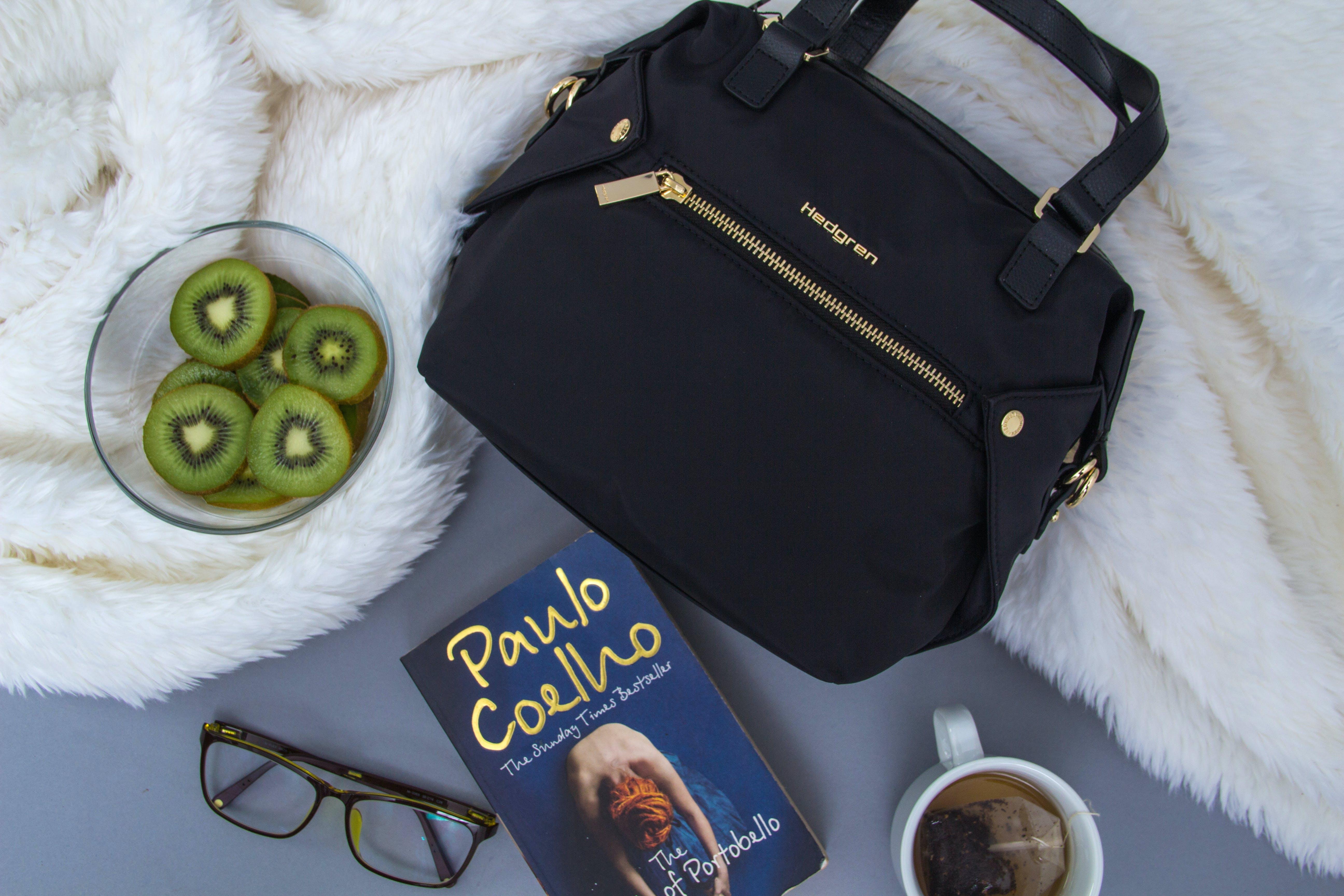 Free stock photo of bag, flatlay
