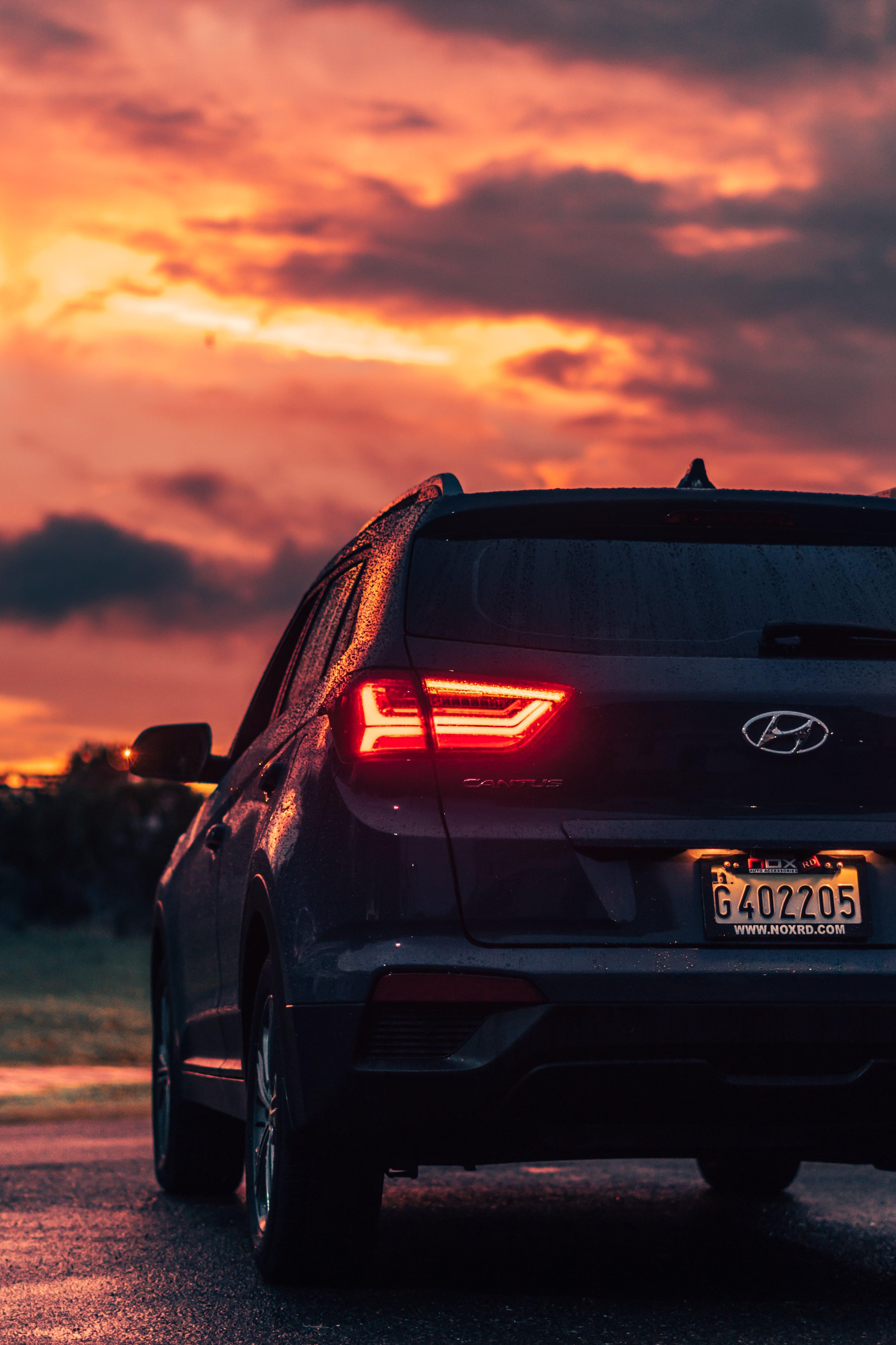 zu abend, asphalt, automobil, design