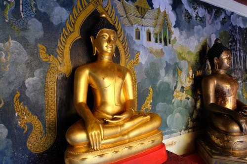 Free stock photo of buddha, gold, statue, temple
