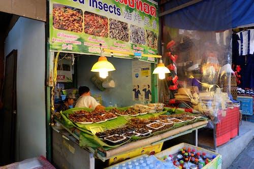 Základová fotografie zdarma na téma asijská kuchyně, bource morušového, hmyz, jídlo