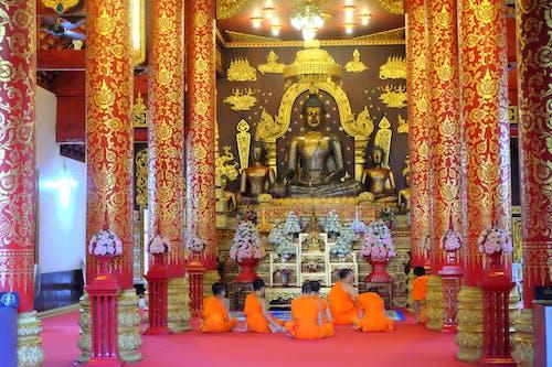 Ilmainen kuvapankkikuva tunnisteilla meditaatio, meditoiva, nuori, temppeli