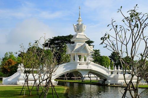 Ilmainen kuvapankkikuva tunnisteilla chiang rai, thaimaa, valkoinen temppeli