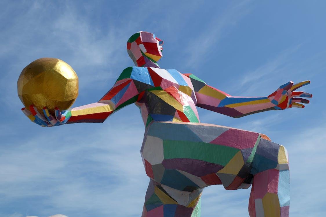 baloon, colorful, geometric