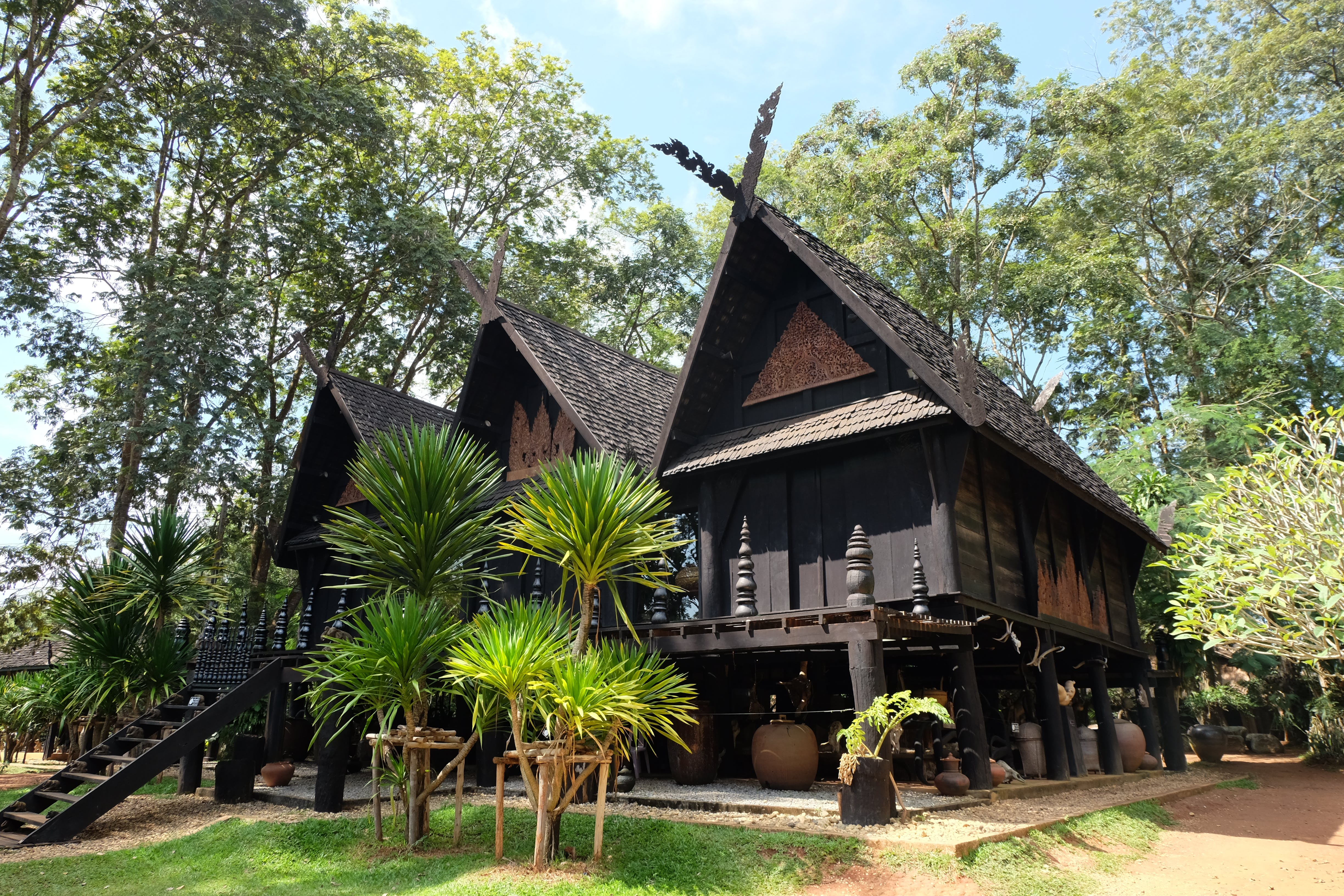 Free stock photo of artist, black house, museum, thailand
