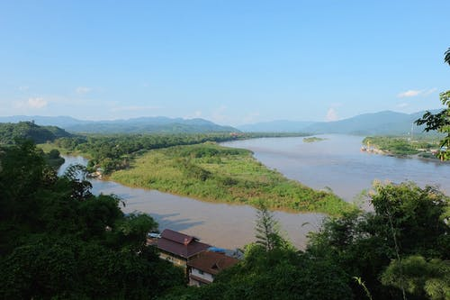 Free stock photo of golden, laos, mekhong, myanmar