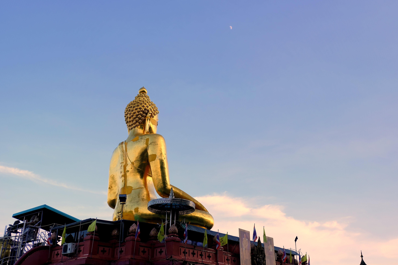 Gratis stockfoto met Boeddha, goud, hemel, kleurrijk