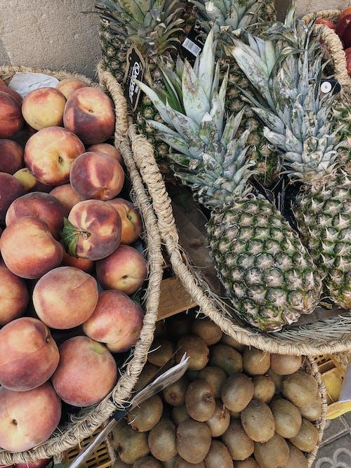Imagine de stoc gratuită din ananas, comestibil, copt, delicios