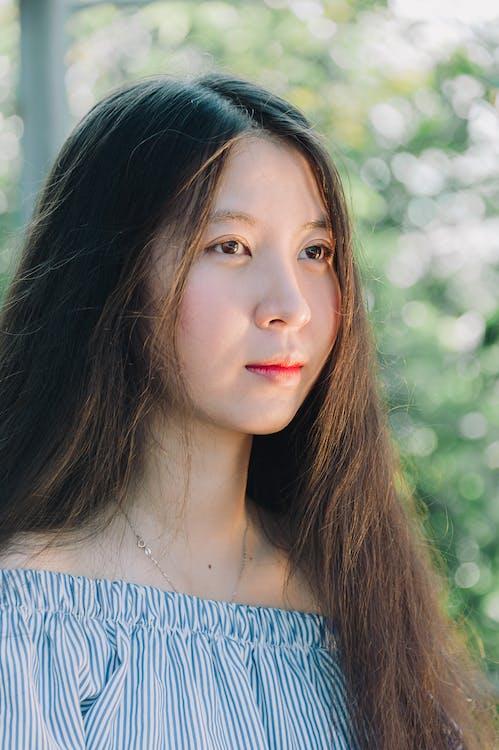 asiatka, asijská holka, hezký