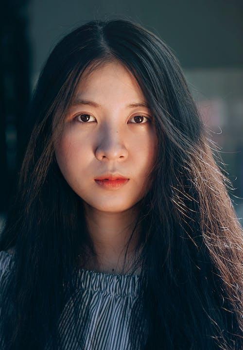 亞洲女人, 嘴唇, 女人, 女孩 的 免费素材照片