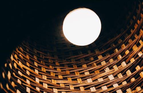 Foto profissional grátis de escuro, estrutura, forma, lâmpada