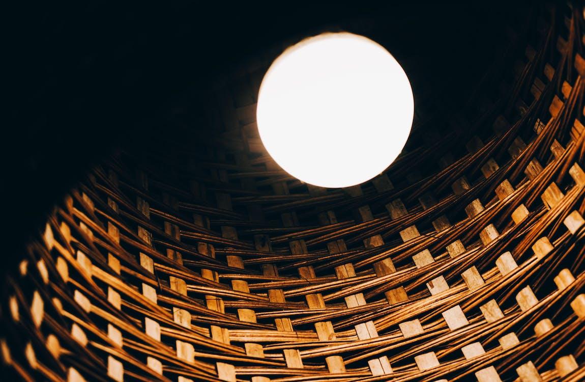 form, glödlampa, ljus