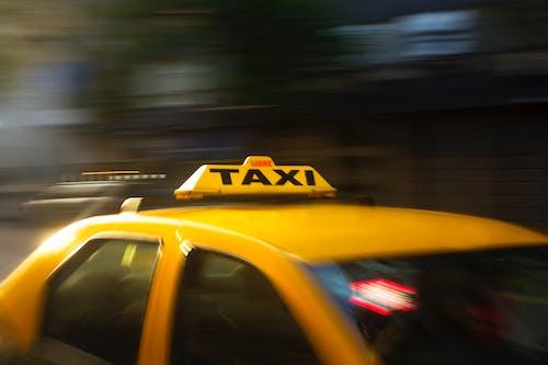 4Kの壁紙, ぼかし, アクション, タクシーの無料の写真素材