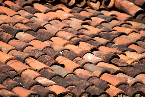 Free stock photo of roof plate, village