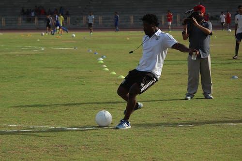 Foto d'estoc gratuïta de bola, dona, esports, fotografia esportiva