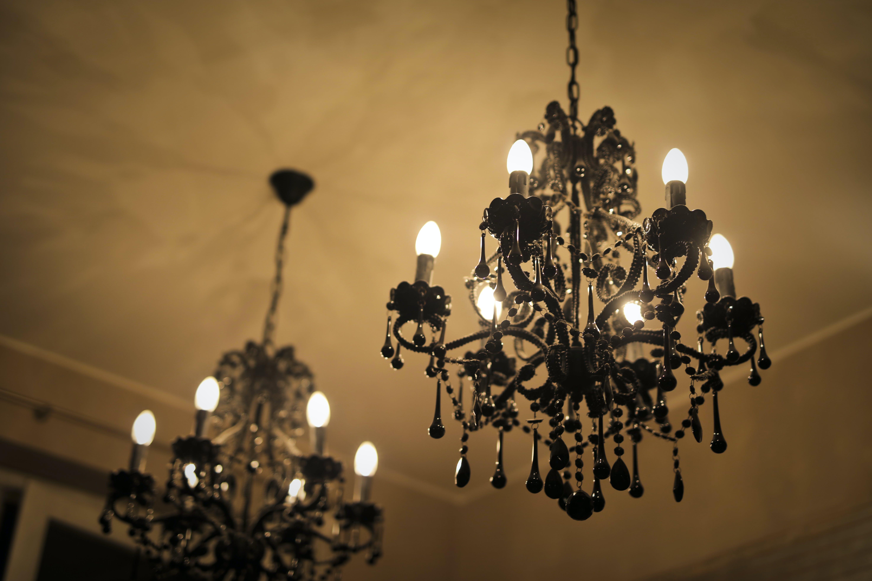 chandelier, indoor, lamp
