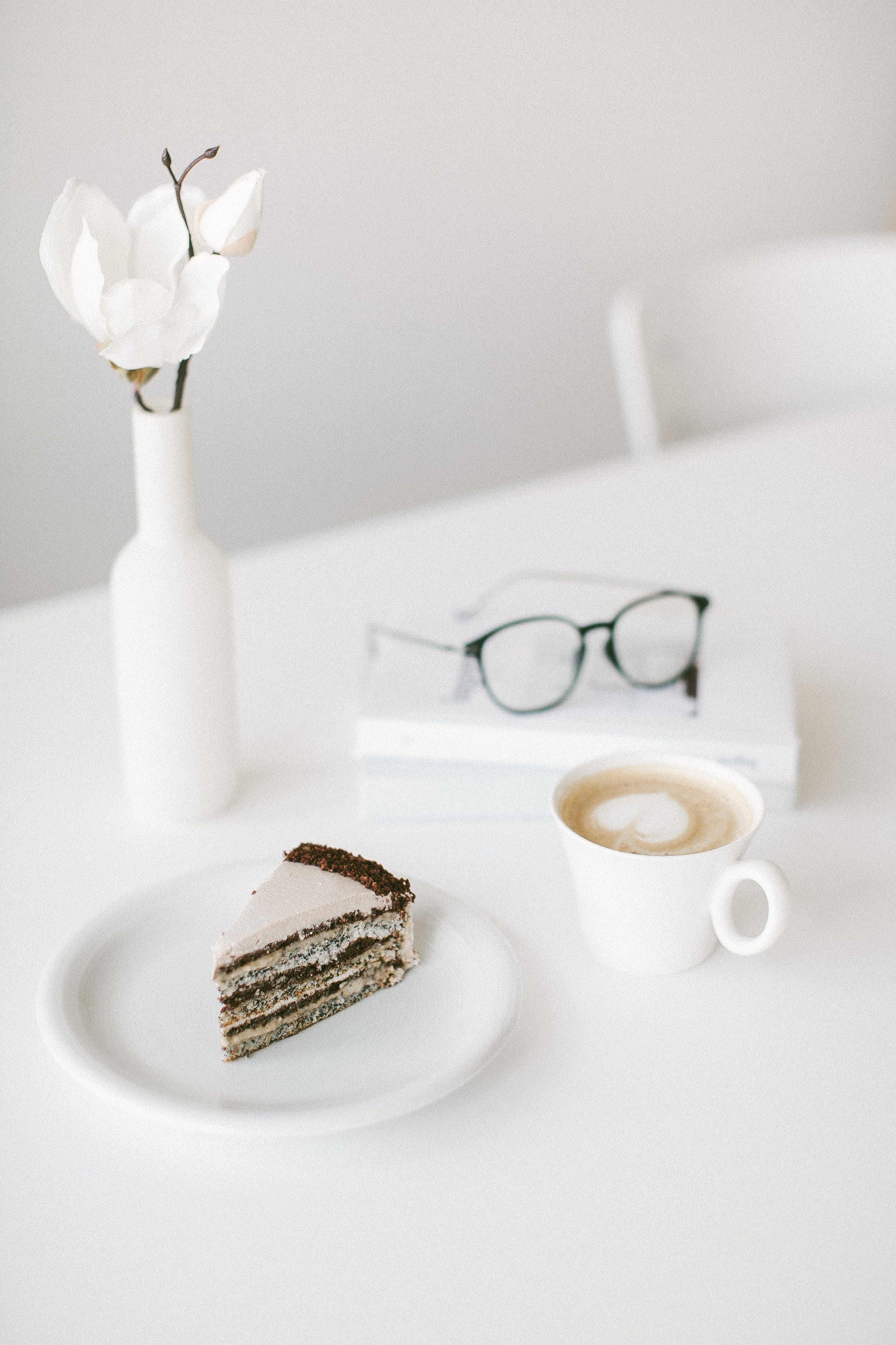 Close-Up Photo of Slice of Cake