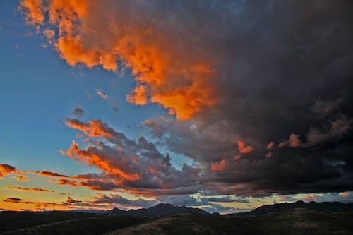 Kostnadsfri bild av gryning, himmel, landskap, moln