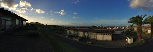 Photos gratuites de la vue d'une école aux açores
