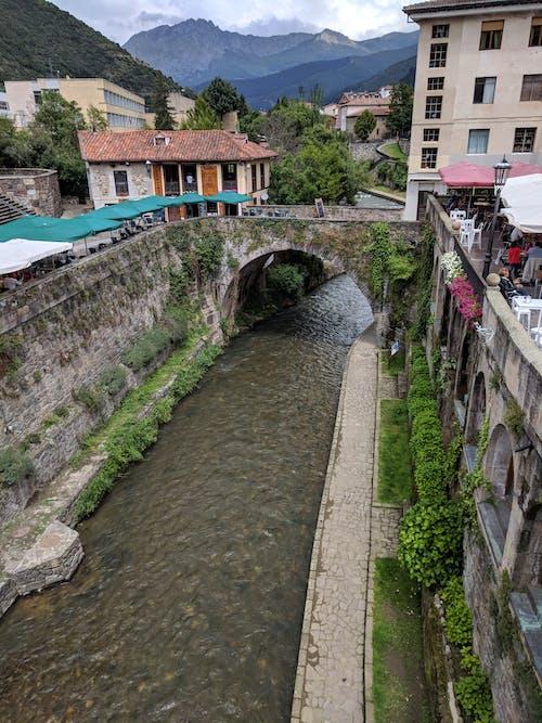 北, 城鎮, 橋, 歐洲 的 免费素材照片