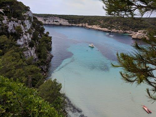 卡拉, 地中海, 山, 梅诺卡 的 免费素材照片