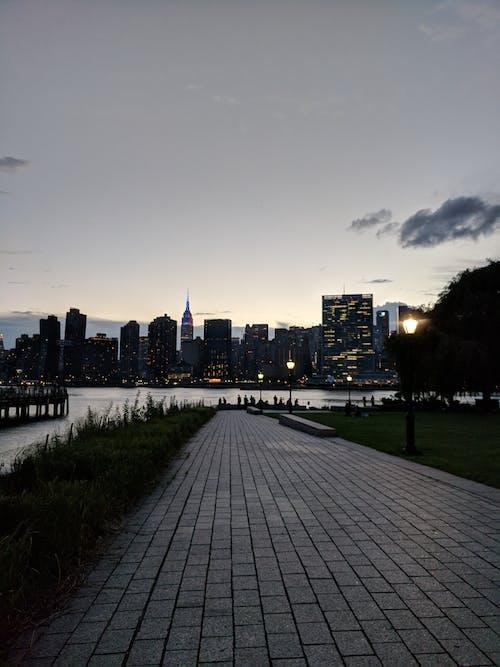 lic, 公園, 城市景觀, 晚上 的 免费素材照片