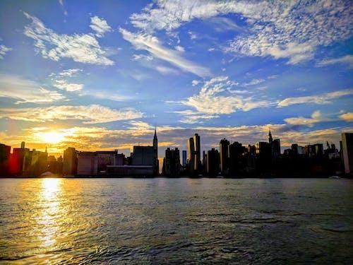 反射, 城市, 太陽, 我们 的 免费素材照片
