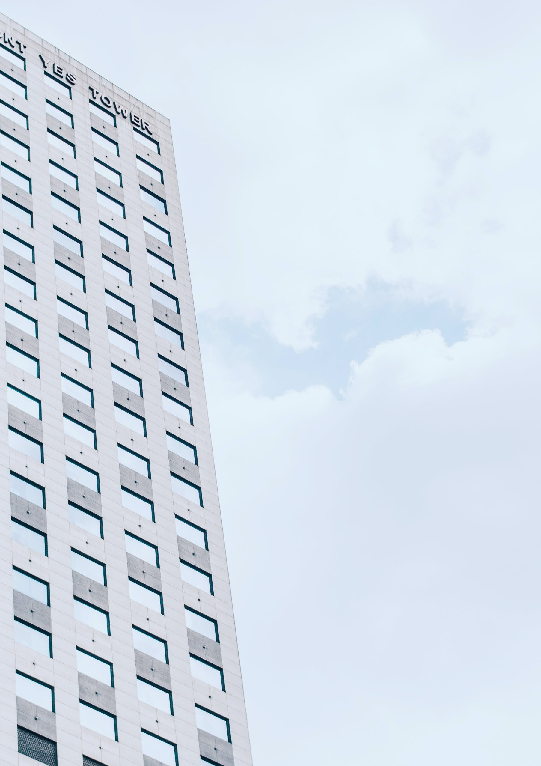 Free stock photo of building, cloud, diagonal, diagonal lines