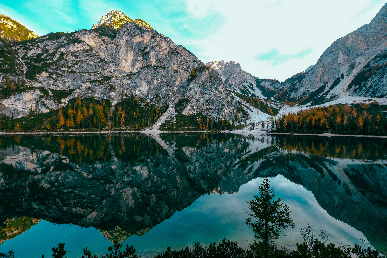 Photo of Beautiful Mountain Scenery.