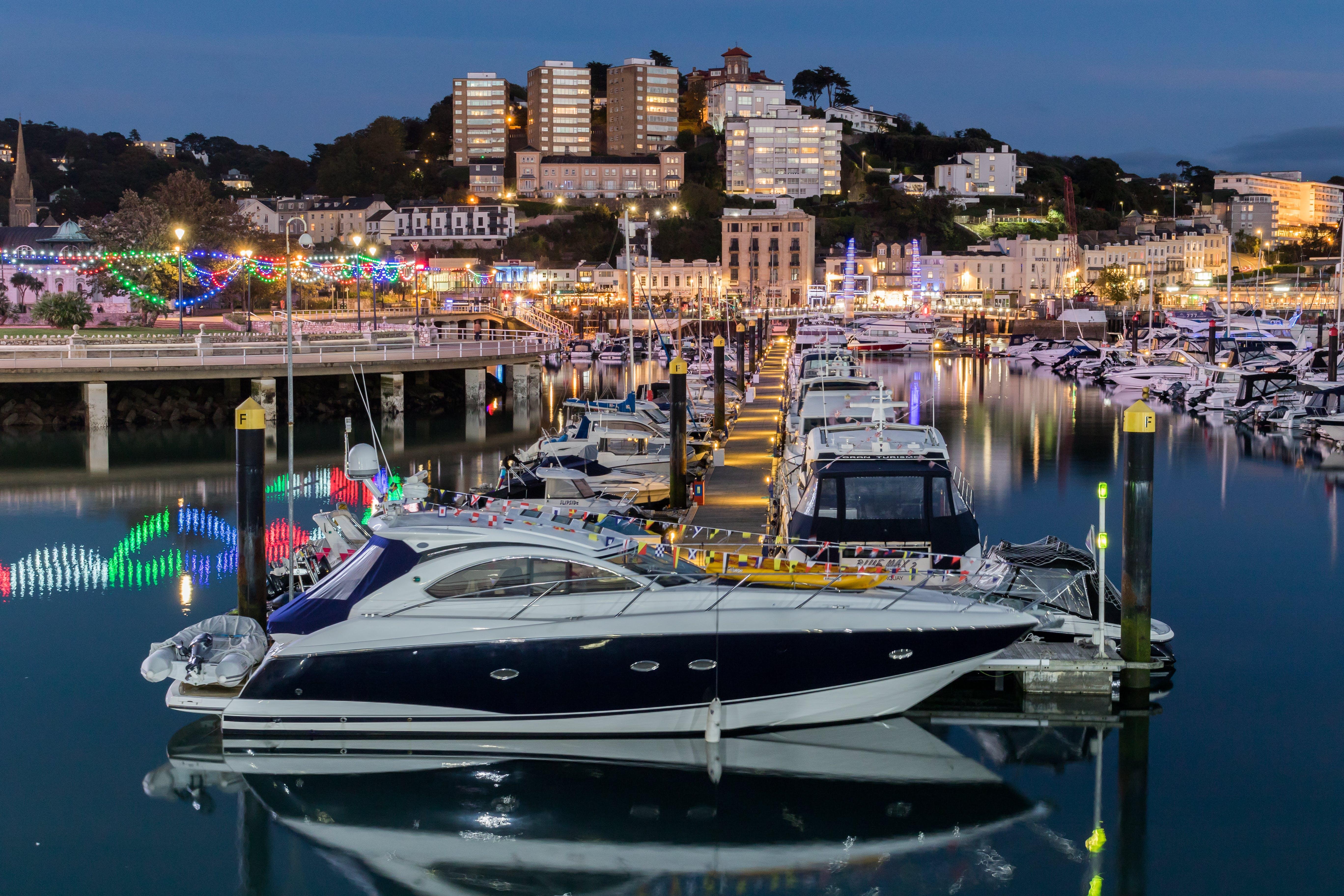 Free stock photo of boats, harbor, england, torquay