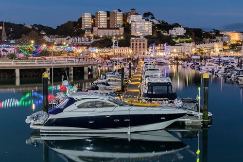 Free stock photo of boats, england, harbor, torquay