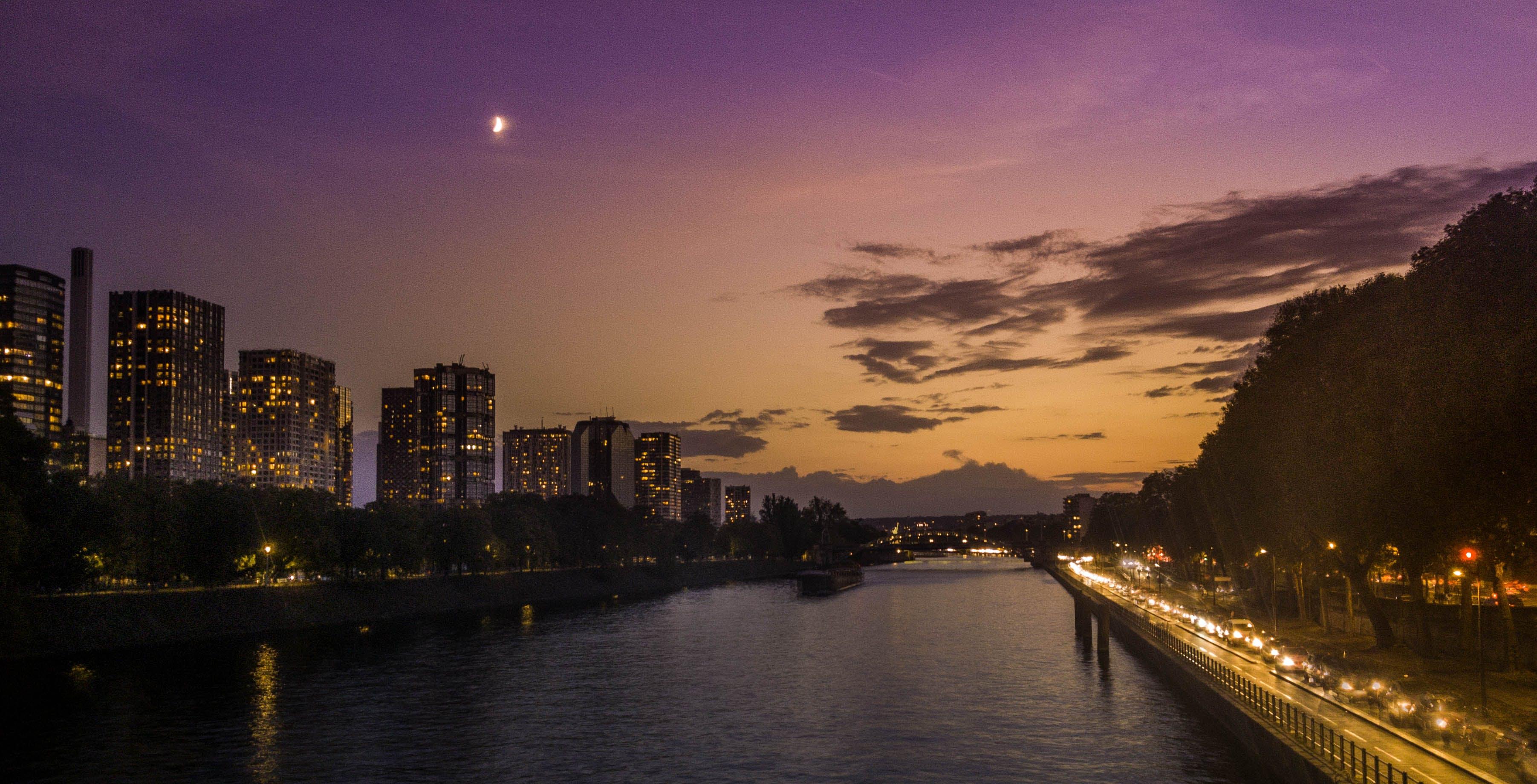 Photos gratuites de nuit, paris