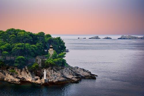 Immagine gratuita di acqua, alba - dawn, Albania, cielo