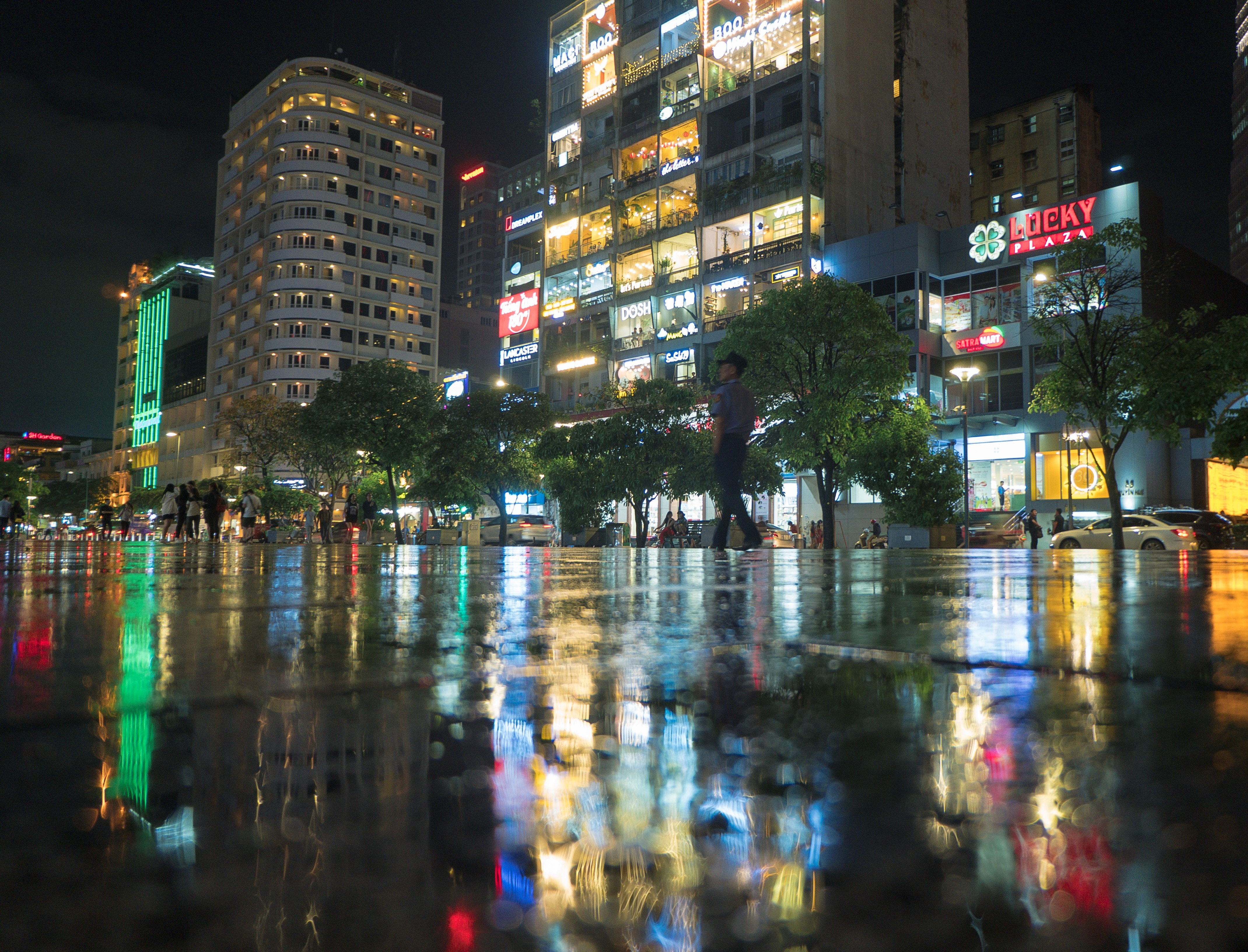 Free stock photo of after the rain, city center, city life