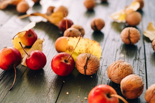 Photo of Cherries and Walnuts