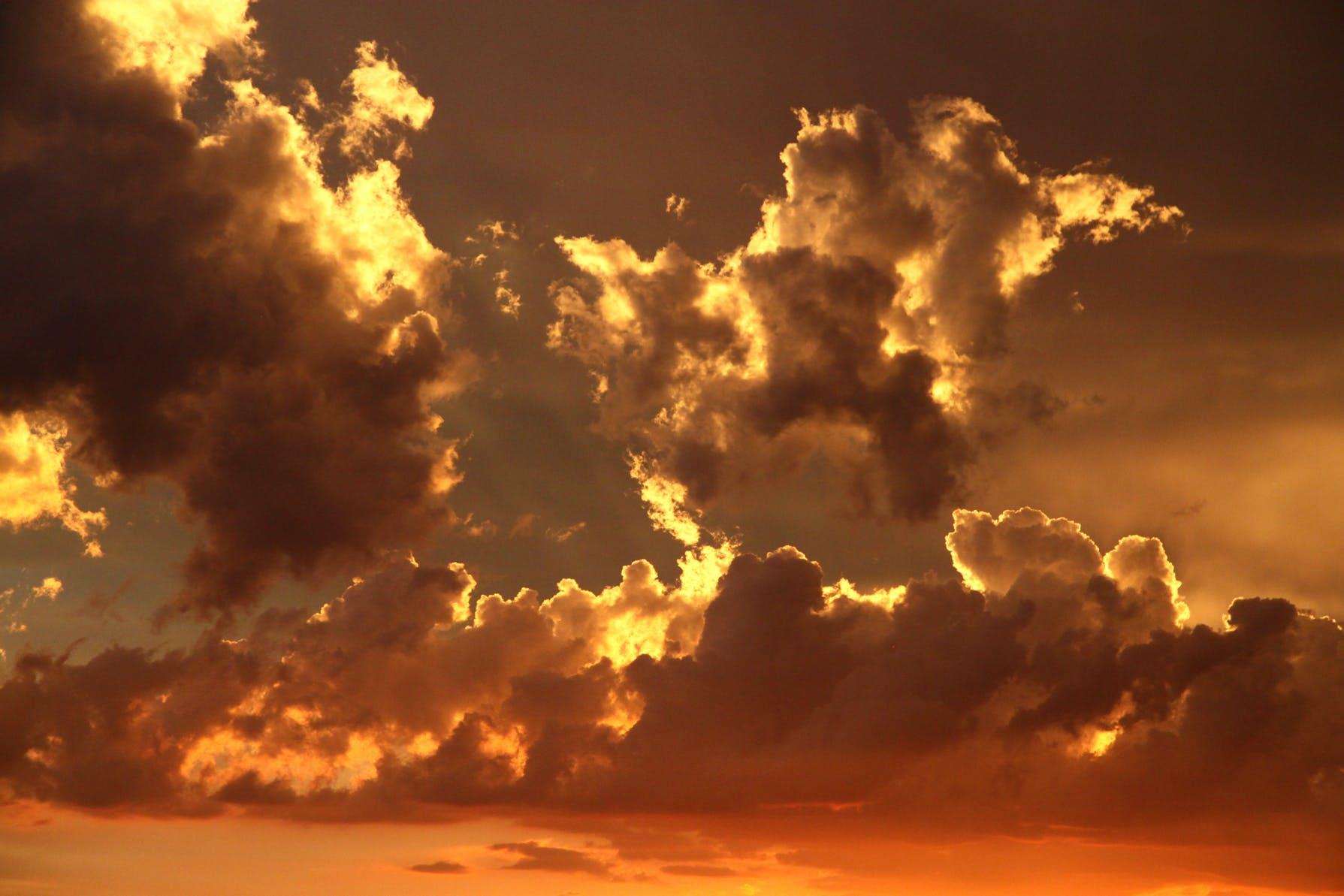 Gratis lagerfoto af himmel, morgengry, natur, skyer