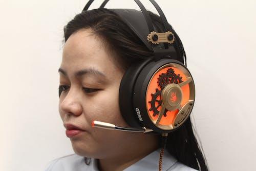 Foto stok gratis headphone, konferensi, mengobrol, pusat panggilan
