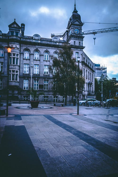 architettura, capitale, città